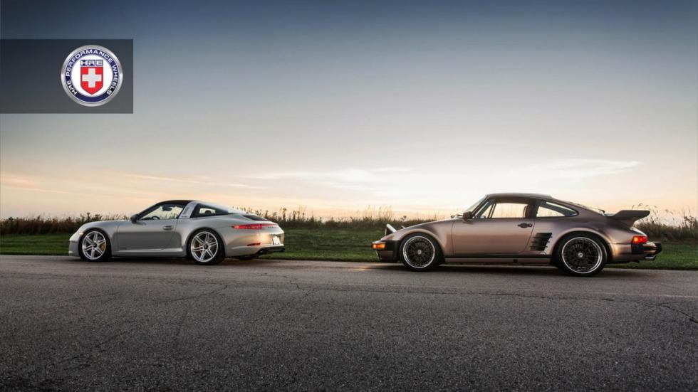 Porsche 911 Targa, 993, 930 Turbo by HRE