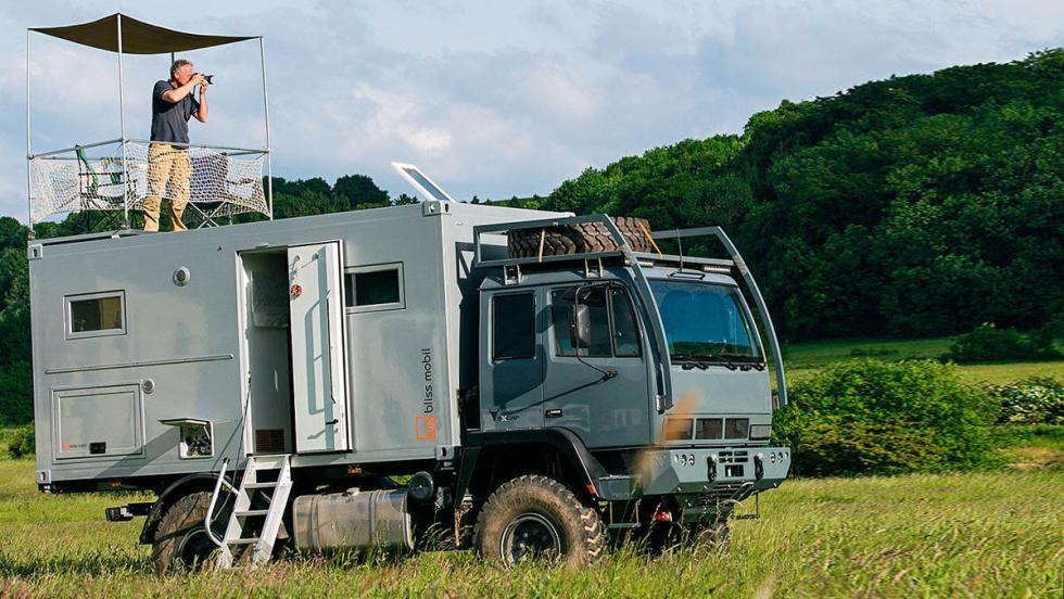 Bliss Mobil Steyr 12M18 4x4