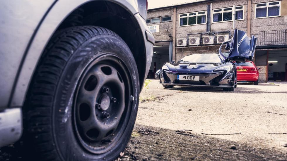 ITV de un McLaren P1 (IX)