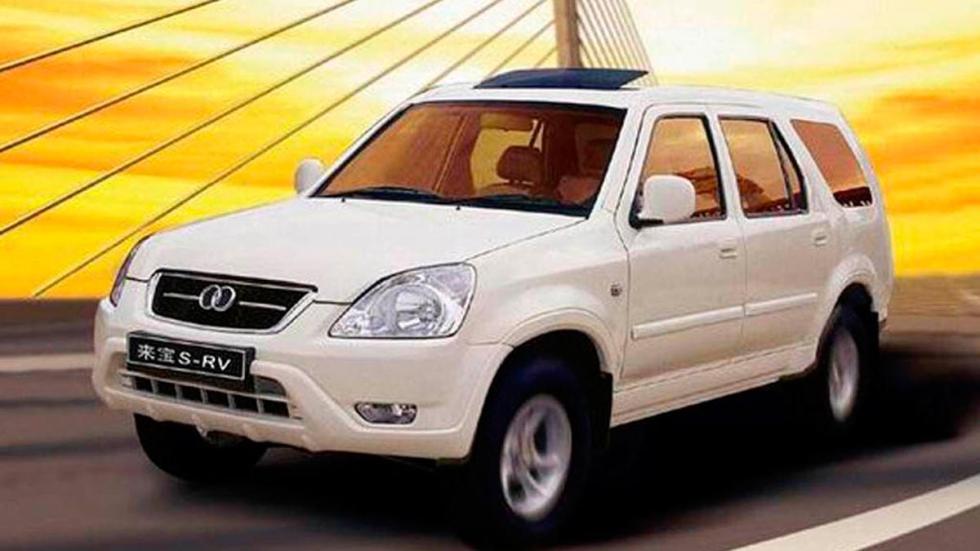 Laibao SRV copia china coches chinos honda cr-v todo terreno