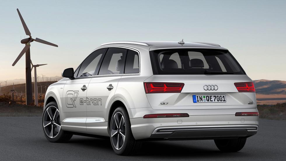 Los mejores coches para huir de tu ex - Audi Q7 e-tron quattro