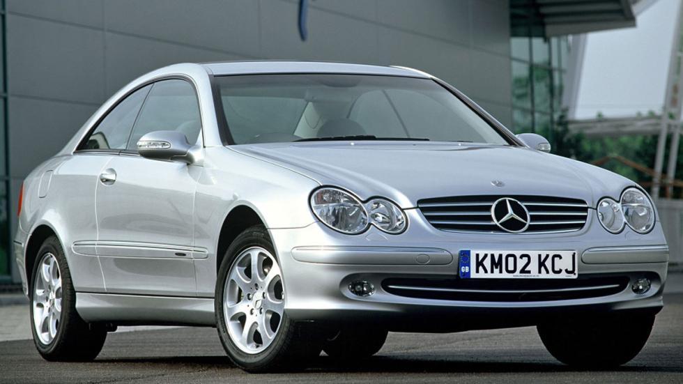 Mercedes CLK frontal lujo coupé