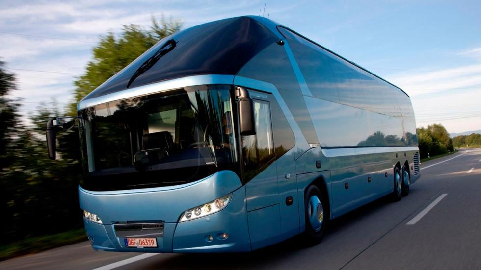 Neoplan Starliner autobús lujo alta gama transporte