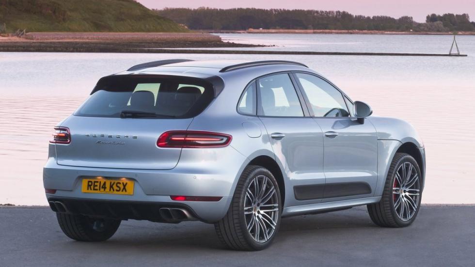 Porsche Macan turbo lujo SUV alta gama alemán