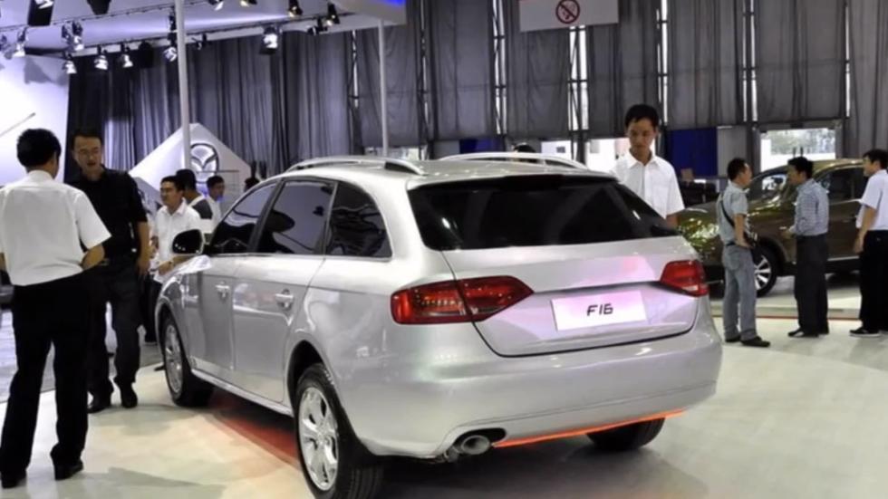 Yema F16 copia china coches chinos familiar