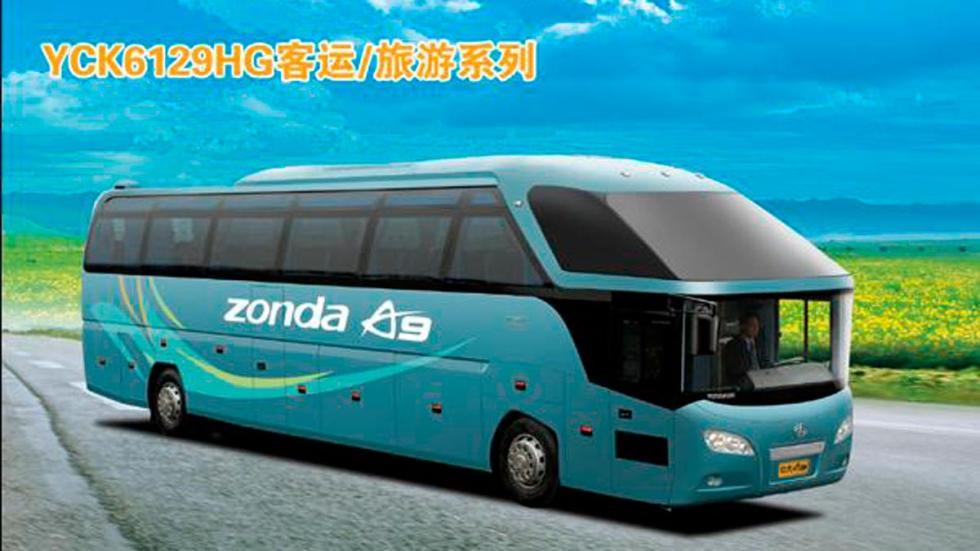 Zonda A9 autobús chino copia china