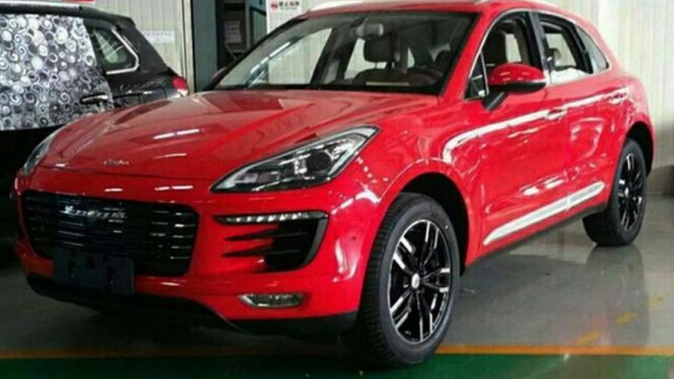 Zotye SR8 copia china coches chino porsche macan lujo SUV