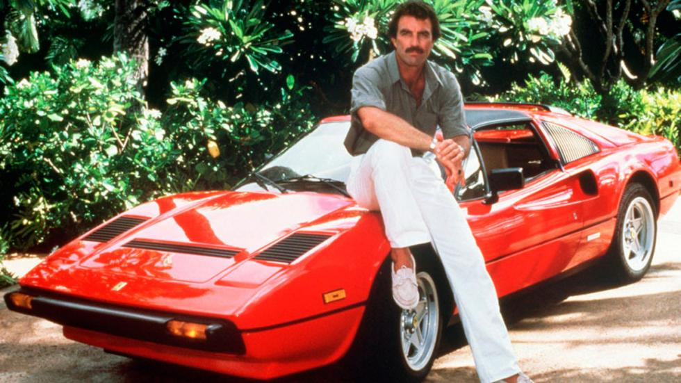 Tom Selleck Ferrari 308 GTS