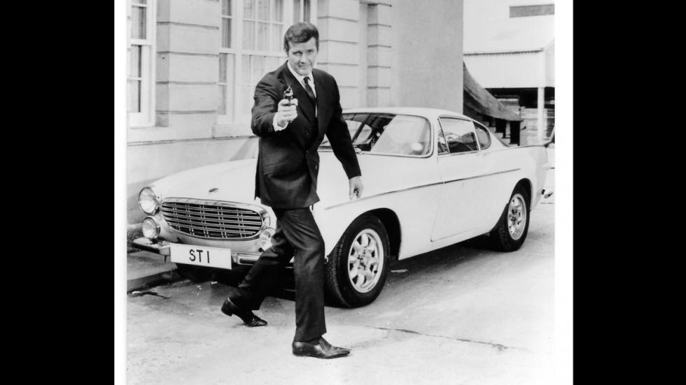 Volvo P1800 - Roger Moore