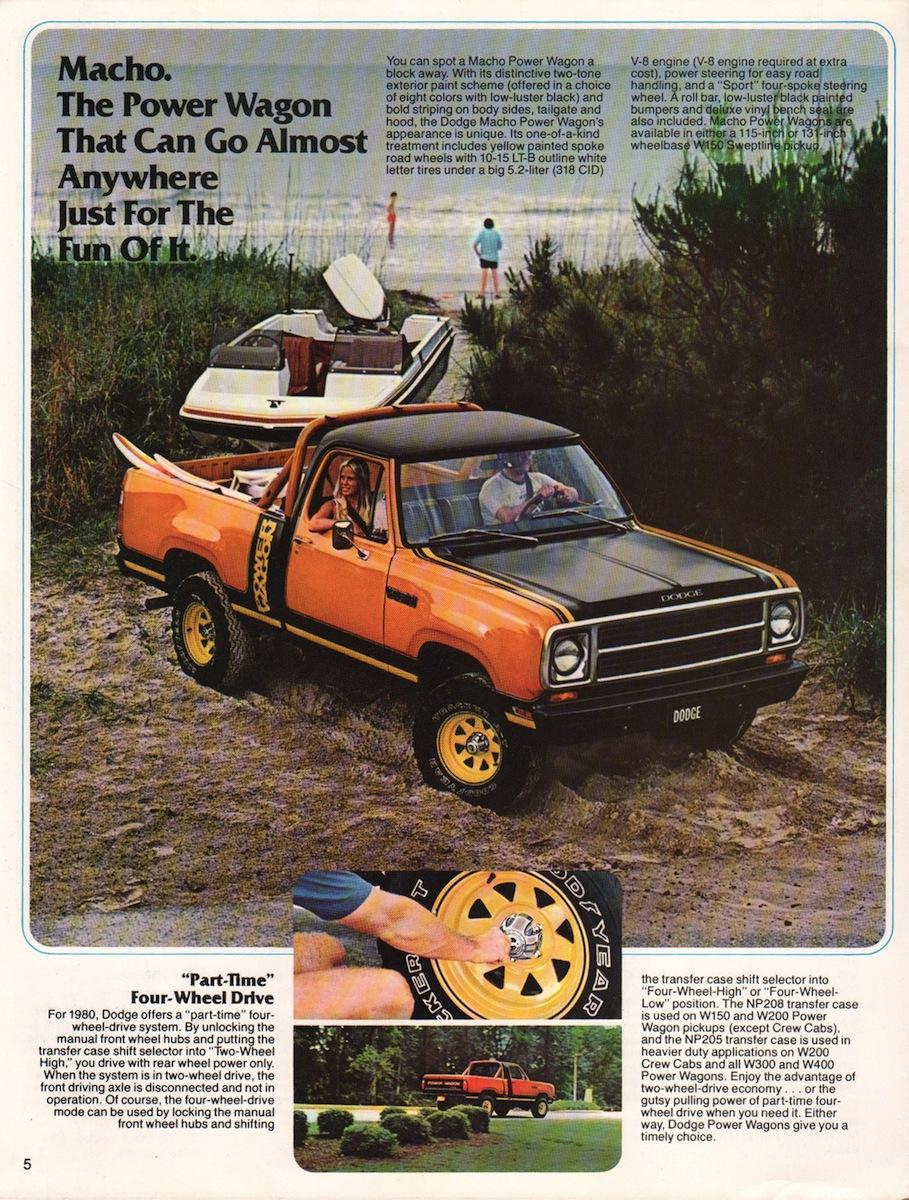 Dodge Macho Power Wagon de 1978