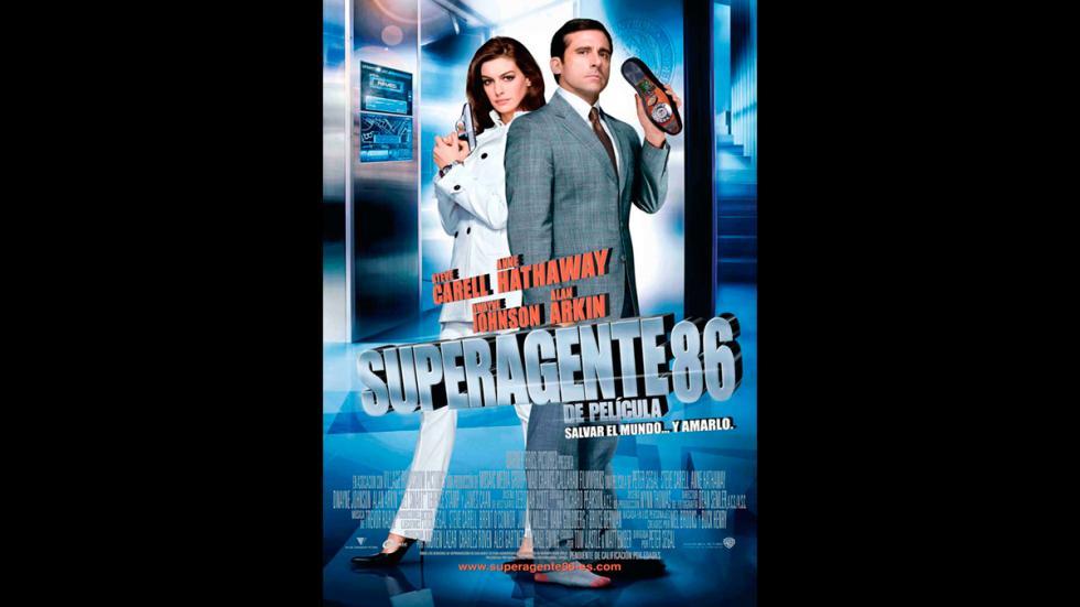 Superagente86 - Steve Carell y Anne Hathaway