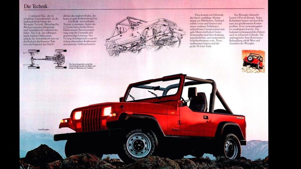 Jeep Wrangler - catálogo