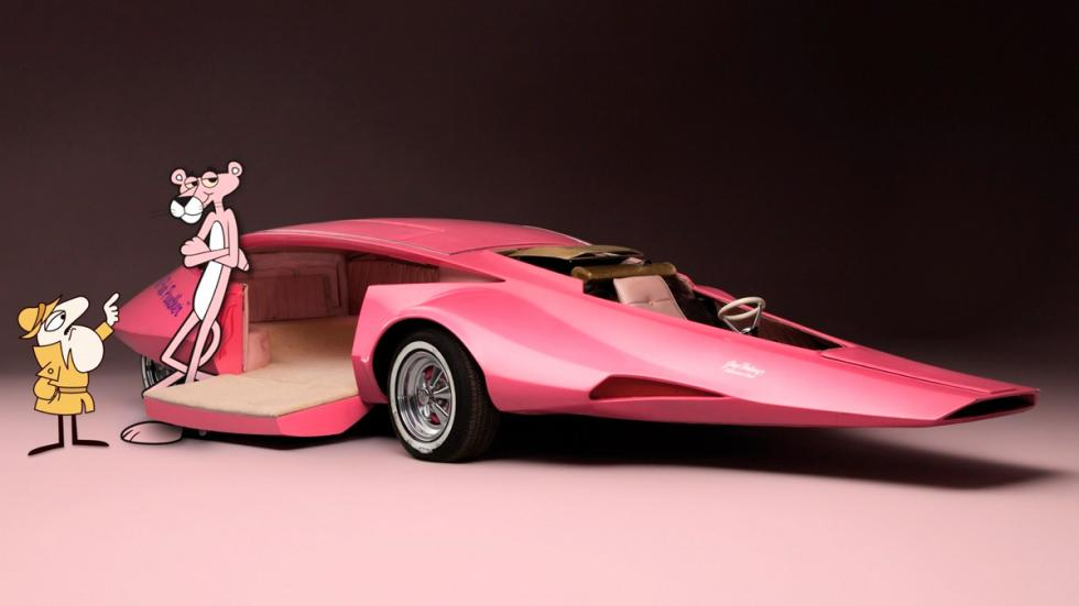 The Pink Panther Show - coche