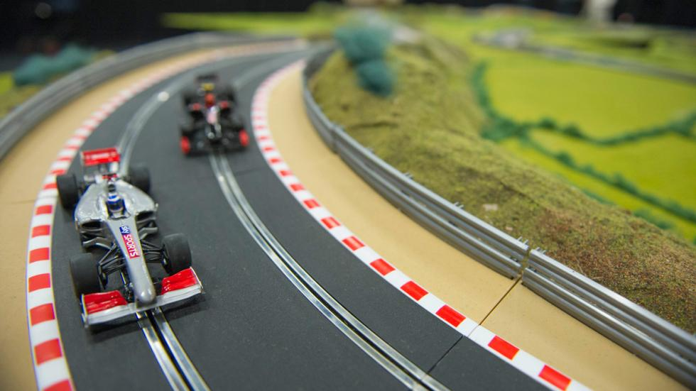 Scalextric Martin Brundle coches
