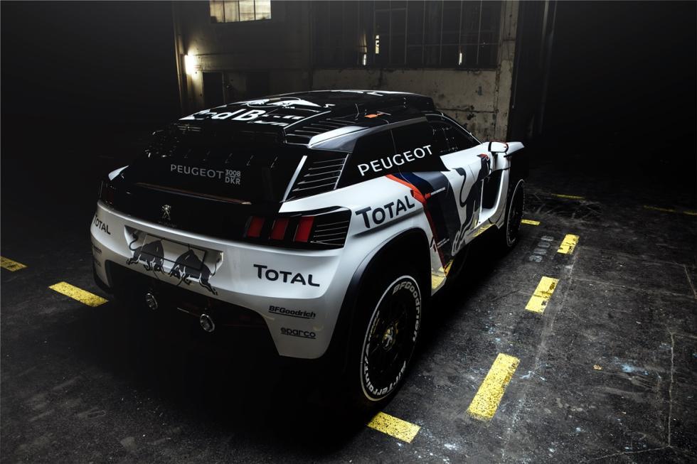 Peugeot 3008 Dakar 2017