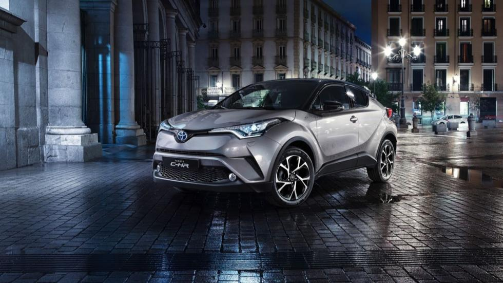 Toyota C-HR 2016 frontal