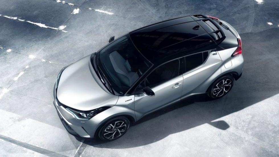 Toyota C-HR 2016 cenital