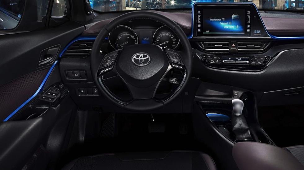 Toyota C-HR 2016 volante