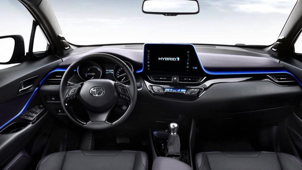 Toyota C-HR 2016 salpicadero