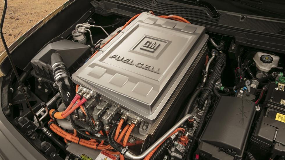 Chevrolet Colorado ZH2 FCEV modulo motor