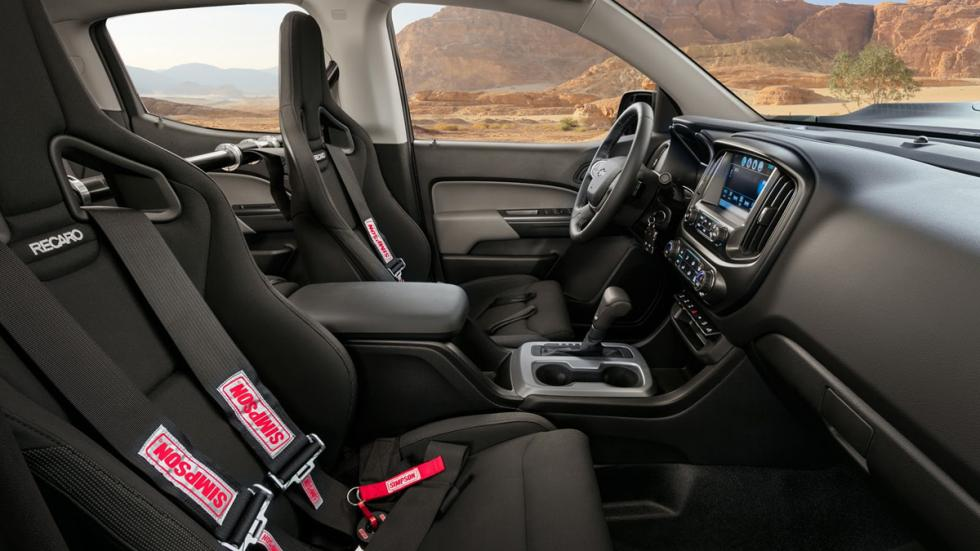 Chevrolet Colorado ZH2 FCEV interior