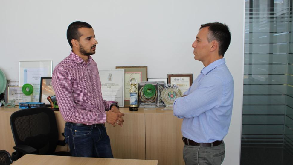 Nikolay Likyov, jefe de producto y de marketing de Litex Motors
