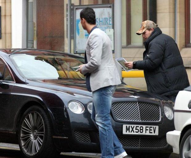 El Bentley Continental GT Speed de Cristiano Ronaldo