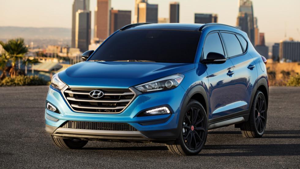 Hyundai Tucson Night