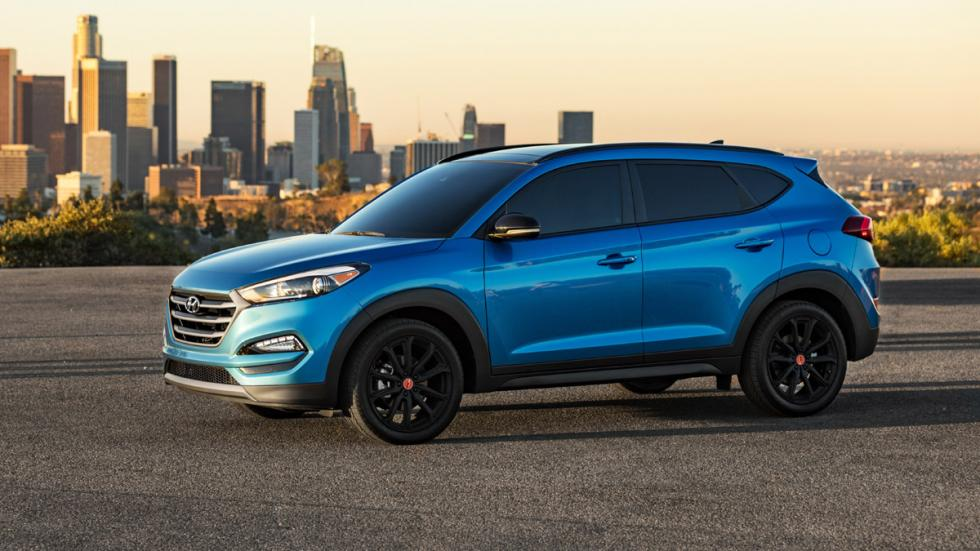 Hyundai Tucson Night lateral