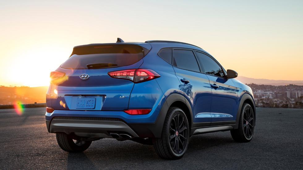 Hyundai Tucson Night detalle trasera