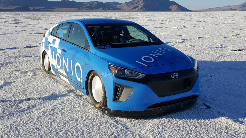 Hyundai Ioniq Hybrid récord velocidad