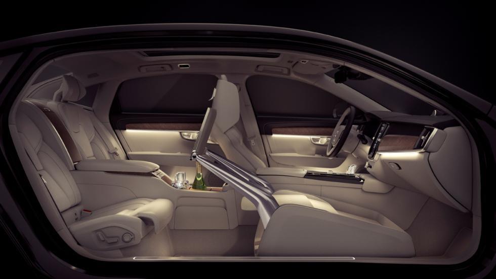 Volvo S90 Excellence habitáculo