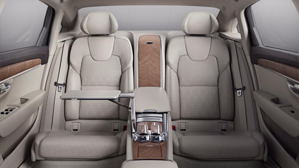 Volvo S90 Excellence asientos traseros