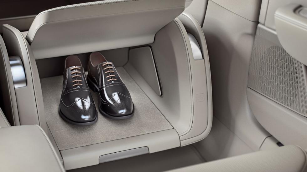 Volvo S90 Excellence detalle zapatero