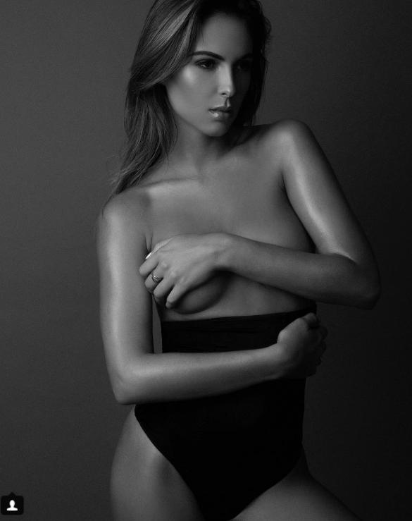 Brittny Ward, la novia de Jenson Button