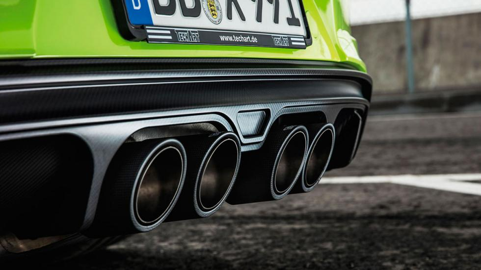 Techart GTstreet R Porsche 911 Turbo escapes