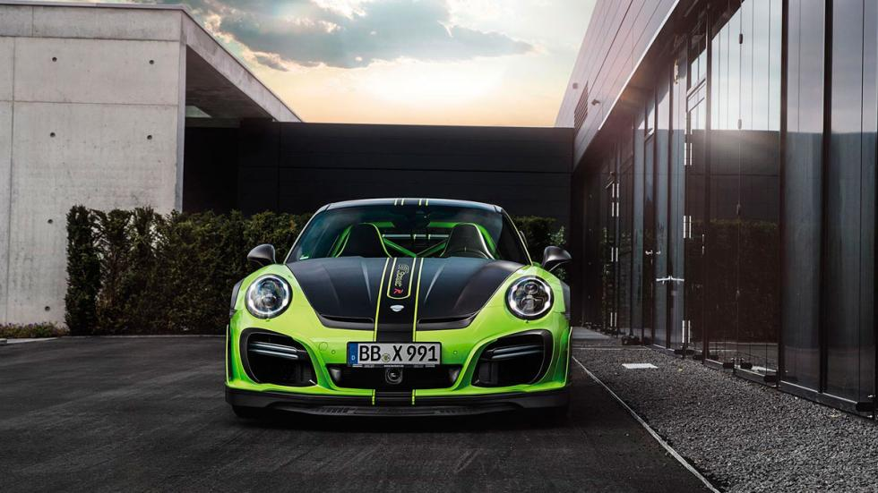 Techart GTstreet R Porsche 911 Turbo frontal