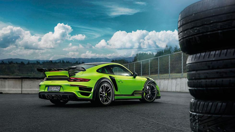 Techart GTstreet R Porsche 911 Turbo trasera