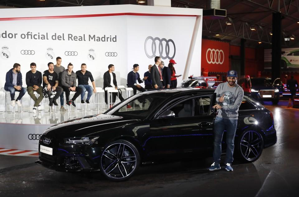 Los Audi de los jugadores del Real Madrid 2016 2