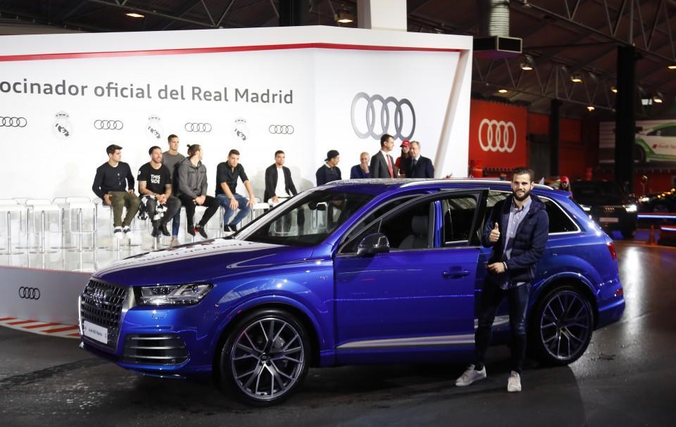 Los Audi de los jugadores del Real Madrid 2016 3
