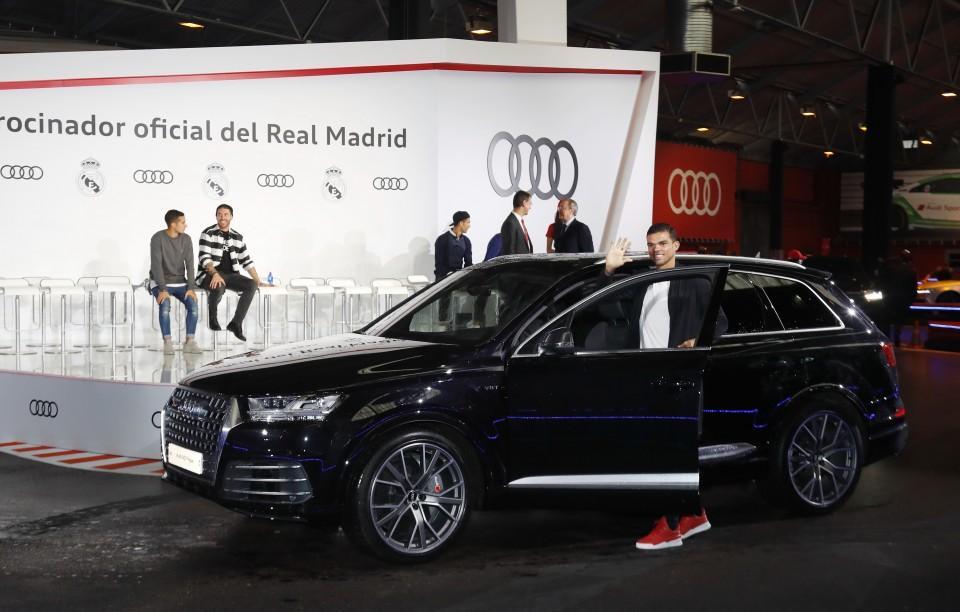 Los Audi de los jugadores del Real Madrid 2016 5