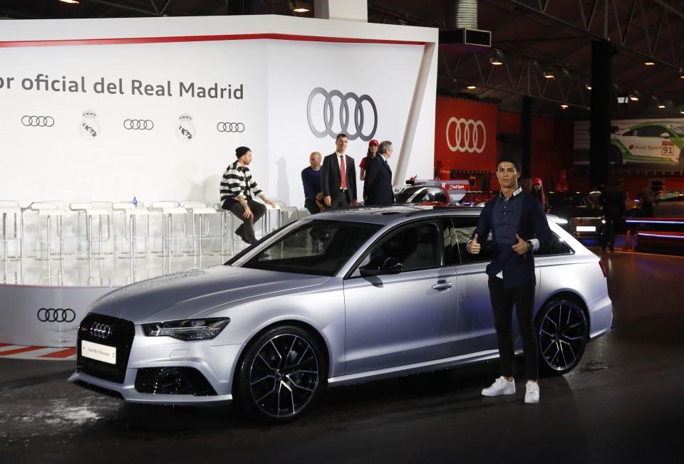 Los Audi de los jugadores del Real Madrid 2016 6