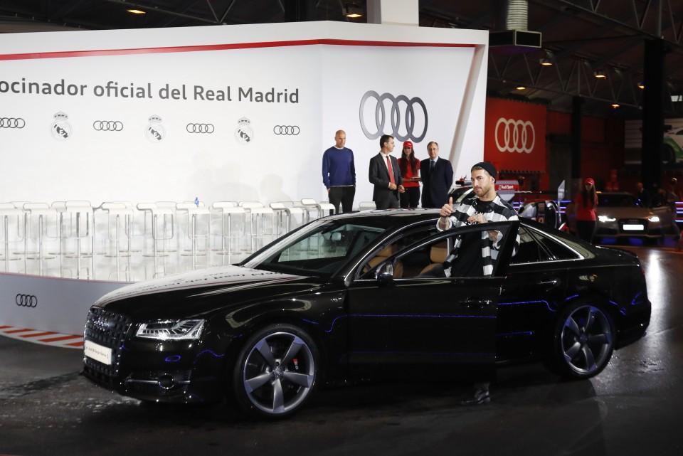 Los Audi de los jugadores del Real Madrid 2016 7