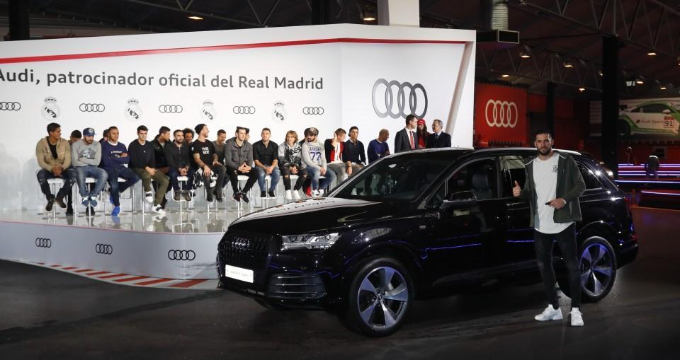 Los Audi de los jugadores del Real Madrid 2016 12