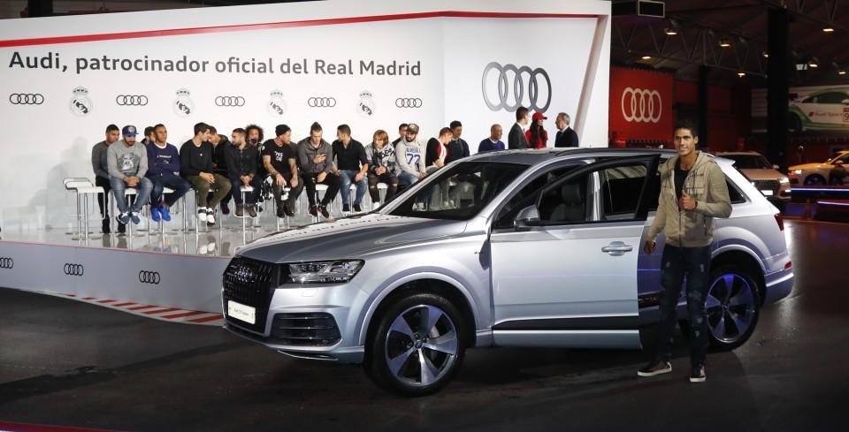 Los Audi de los jugadores del Real Madrid 2016 13