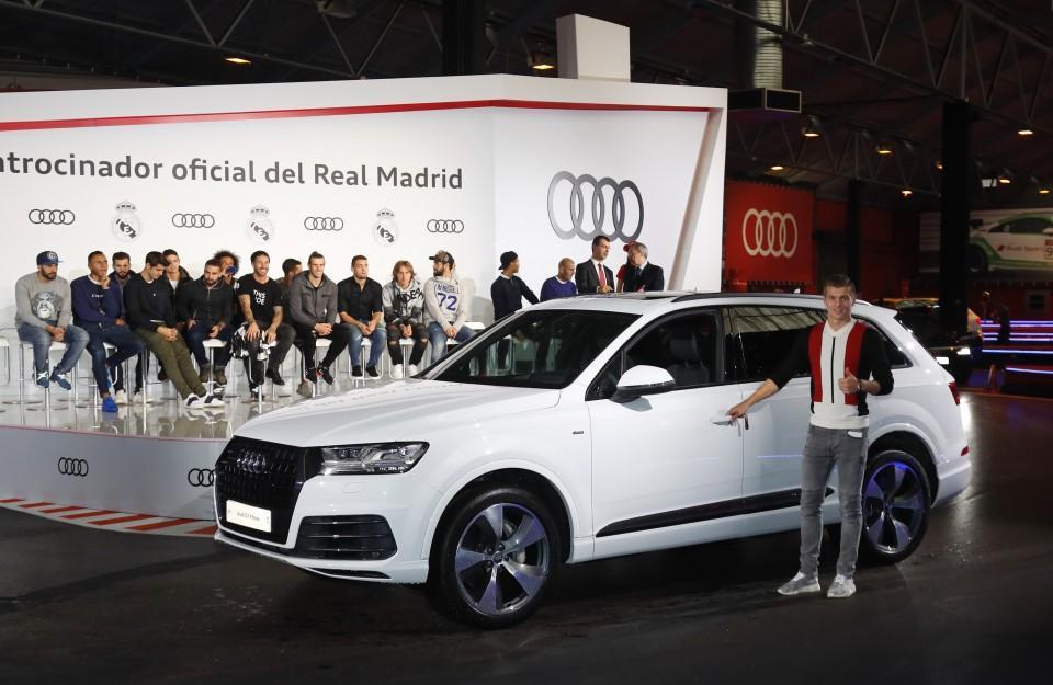 Los Audi de los jugadores del Real Madrid 2016 14