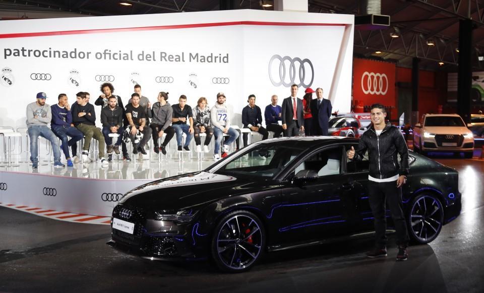 Los Audi de los jugadores del Real Madrid 2016 15