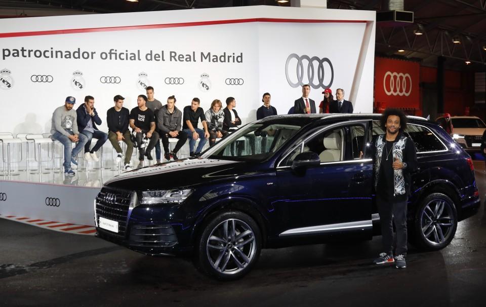 Los Audi de los jugadores del Real Madrid 2016 16