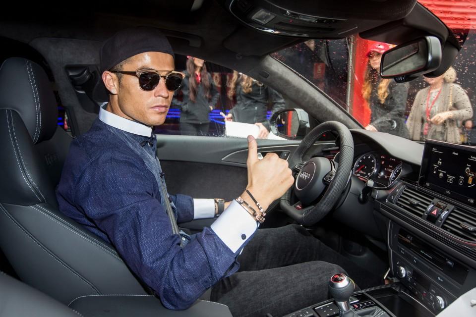 Los Audi de los jugadores del Real Madrid 2016 1