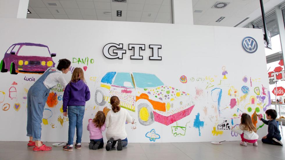 40 aniversario Golf GTI Jarama niños